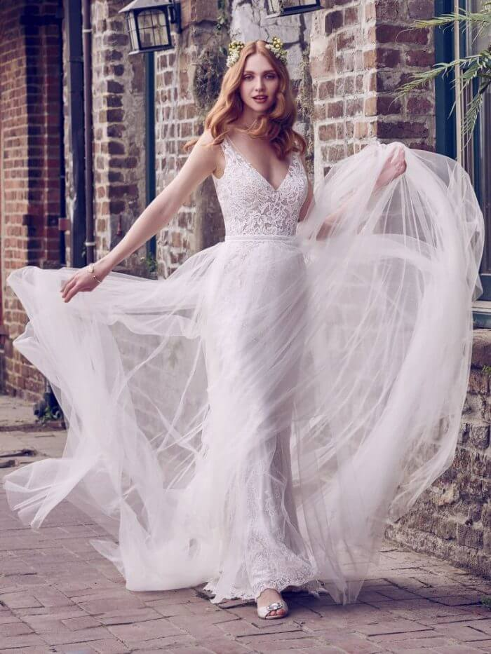 Maggie Sottero Wedding Dress Hazel 8MW472 Main