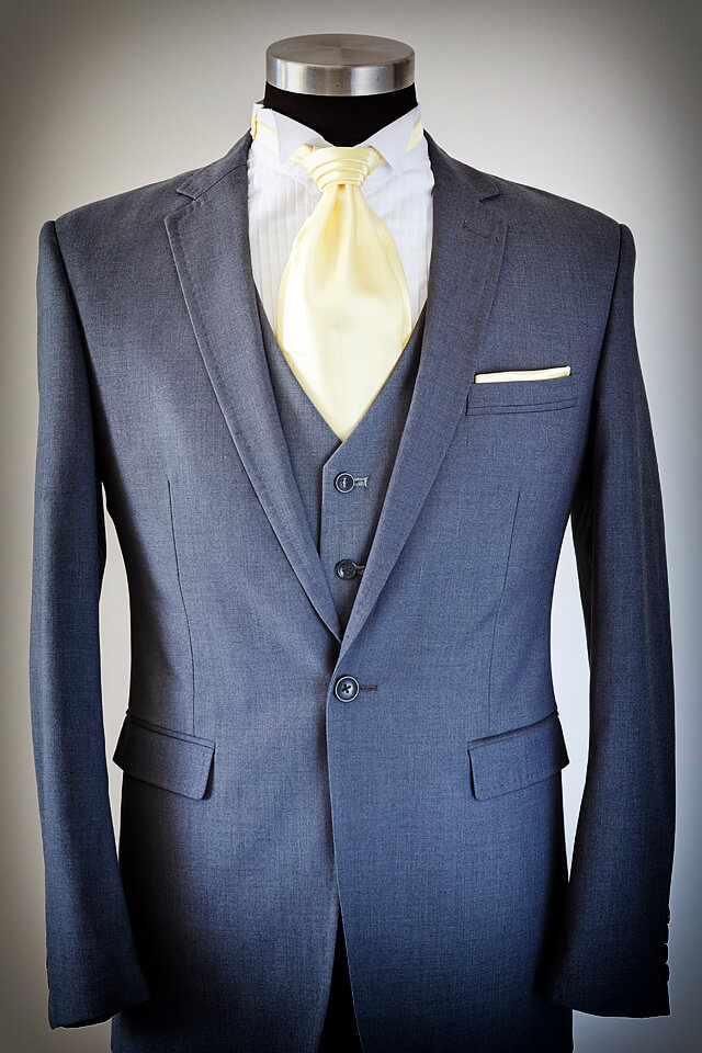 Grey Suit Slim cut 003