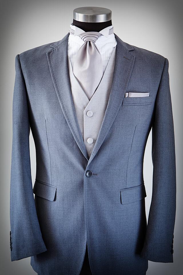 Grey Suit Slim cut 004
