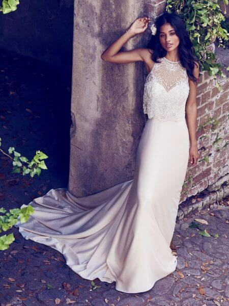 Maggie Sottero Wedding Dress Larkin 8MT450 Alt2