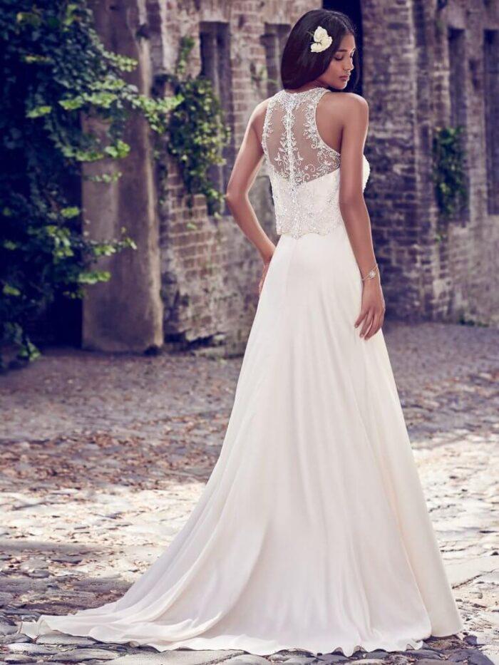 Maggie Sottero Wedding Dress Larkin 8MT450 Back