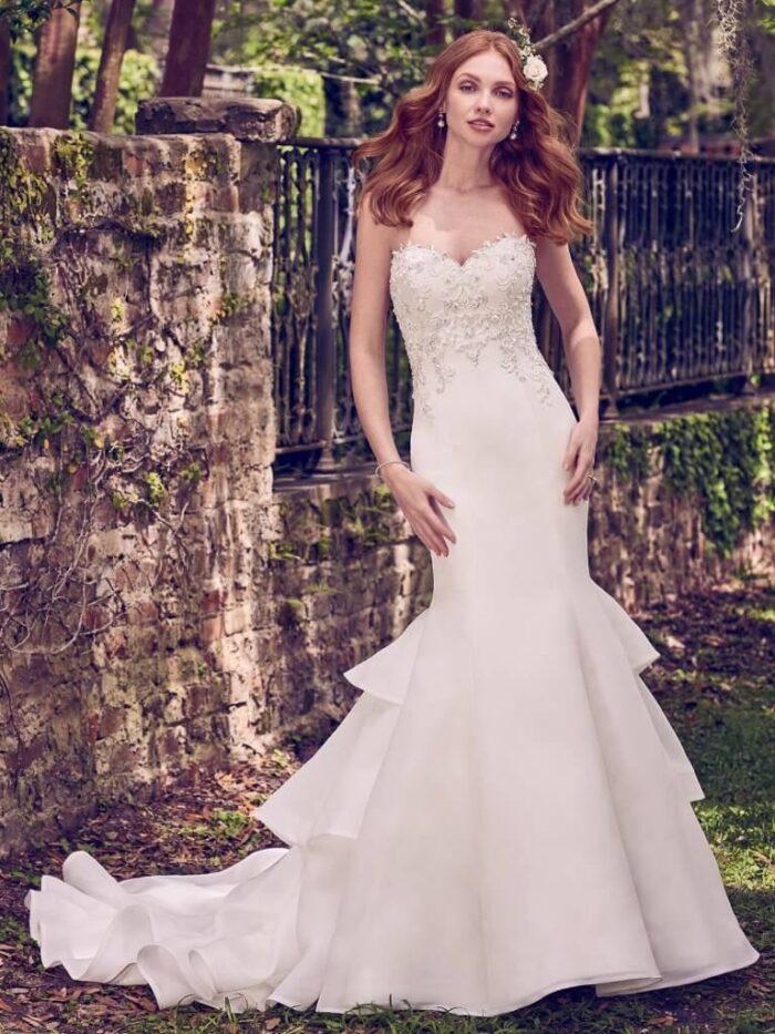 Maggie Sottero Wedding Dress Quintyn 8MW474 Alt1