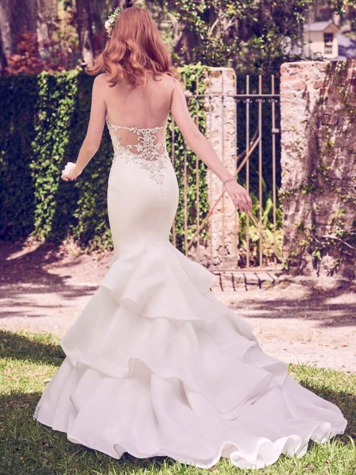Maggie Sottero Wedding Dress Quintyn 8MW474 Back
