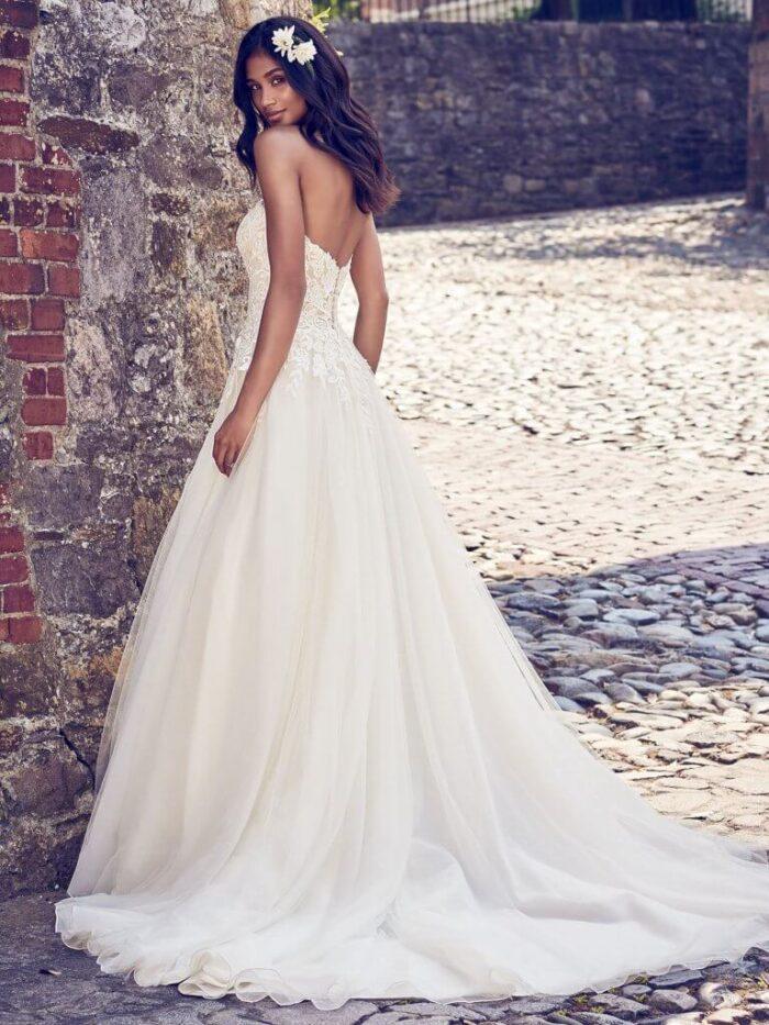 Maggie Sottero Wedding Dress Rayna 8MN498 Back