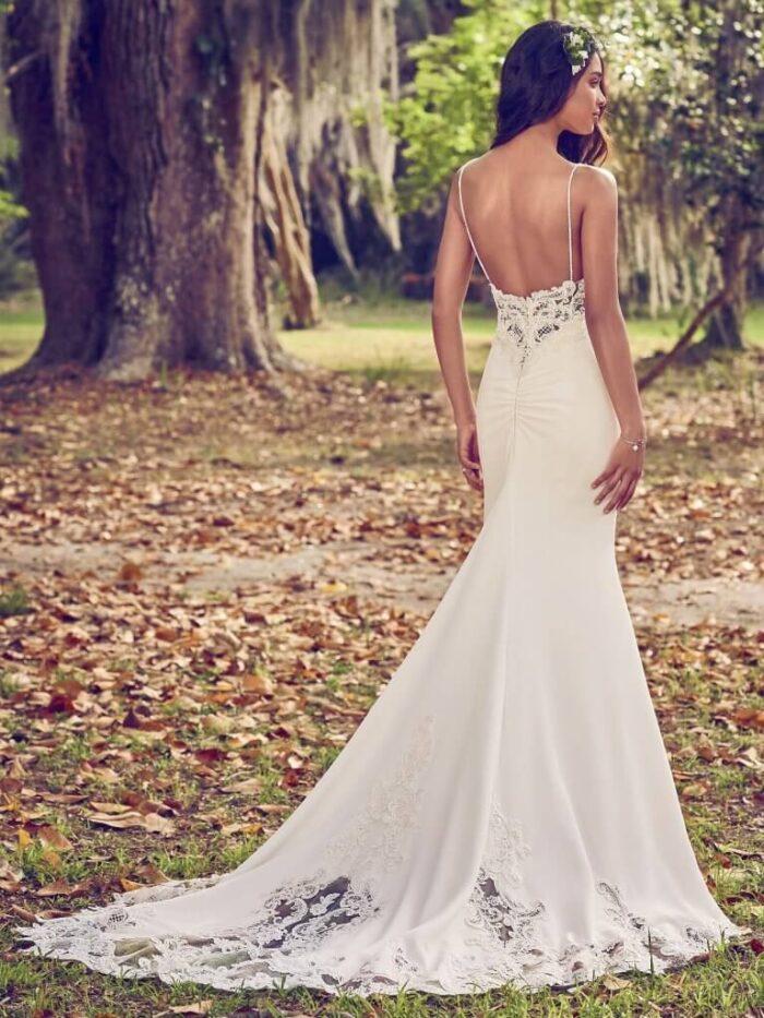Maggie Sottero Wedding Dress Zoey 8MC476 Back