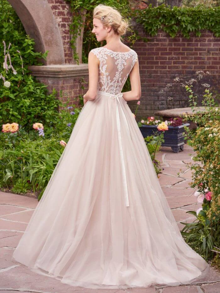 Rebecca Ingram Wedding Dress Carrie 7RS297 Back