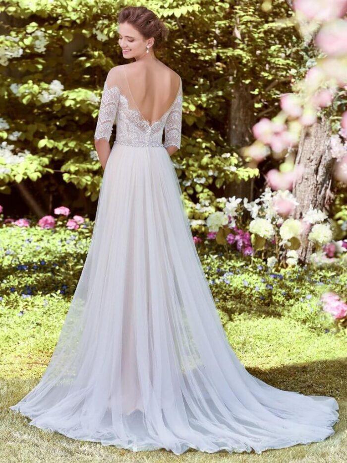 Rebecca Ingram Wedding Dress Cathy 8RW522 Back 1