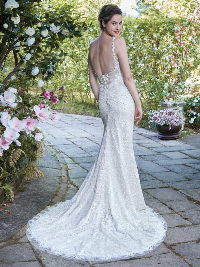 Rebecca Ingram Wedding Dress Helena 7RC908 Back
