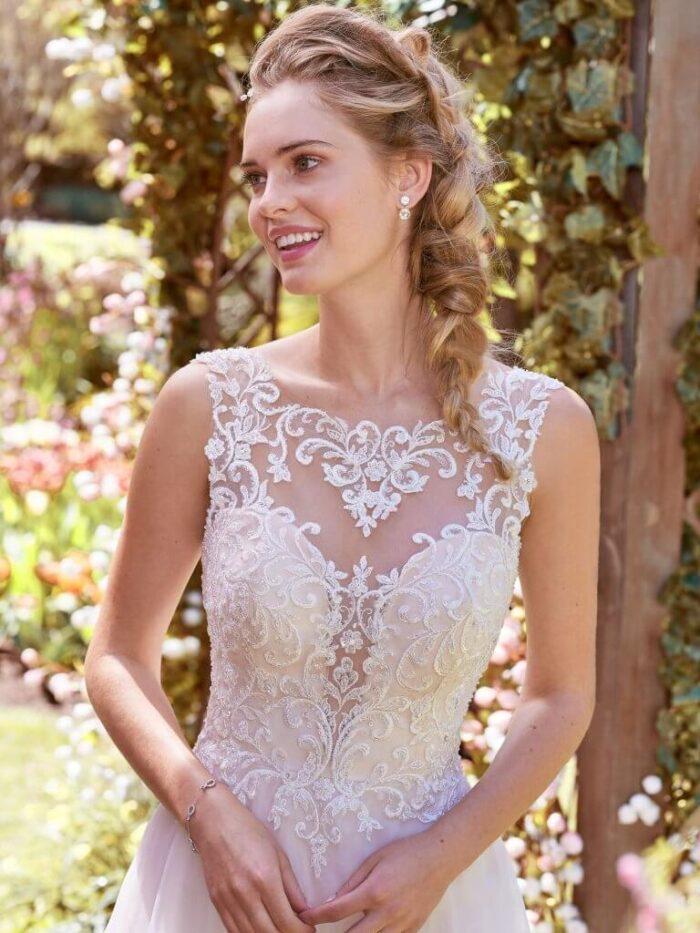 Rebecca Ingram Wedding Dress Joyce 8RT533 Alt1