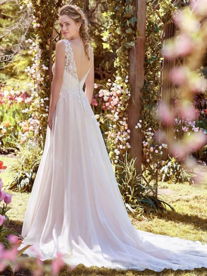 Rebecca Ingram Wedding Dress Joyce 8RT533 Back