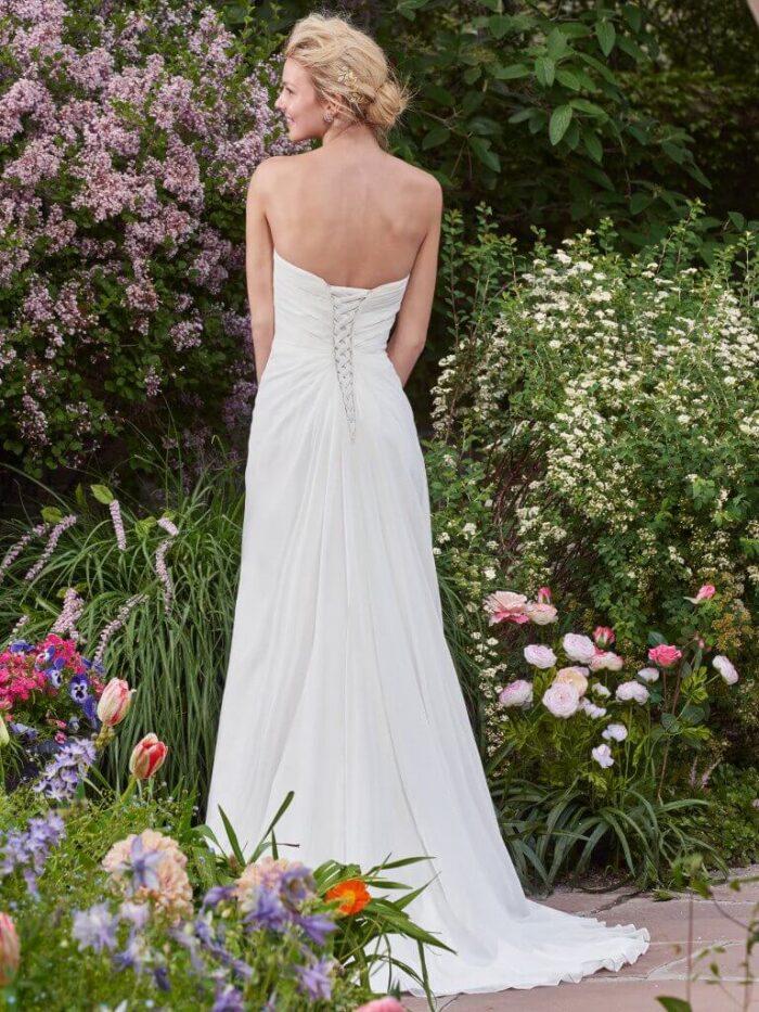 Rebecca Ingram Wedding Dress Linda 7RD350 Back