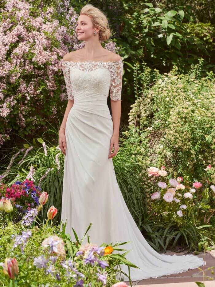 Rebecca Ingram Wedding Dress Linda 7RD350 Main