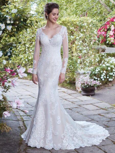 Rebecca Ingram Wedding Dress Maeve 7RS886 Main