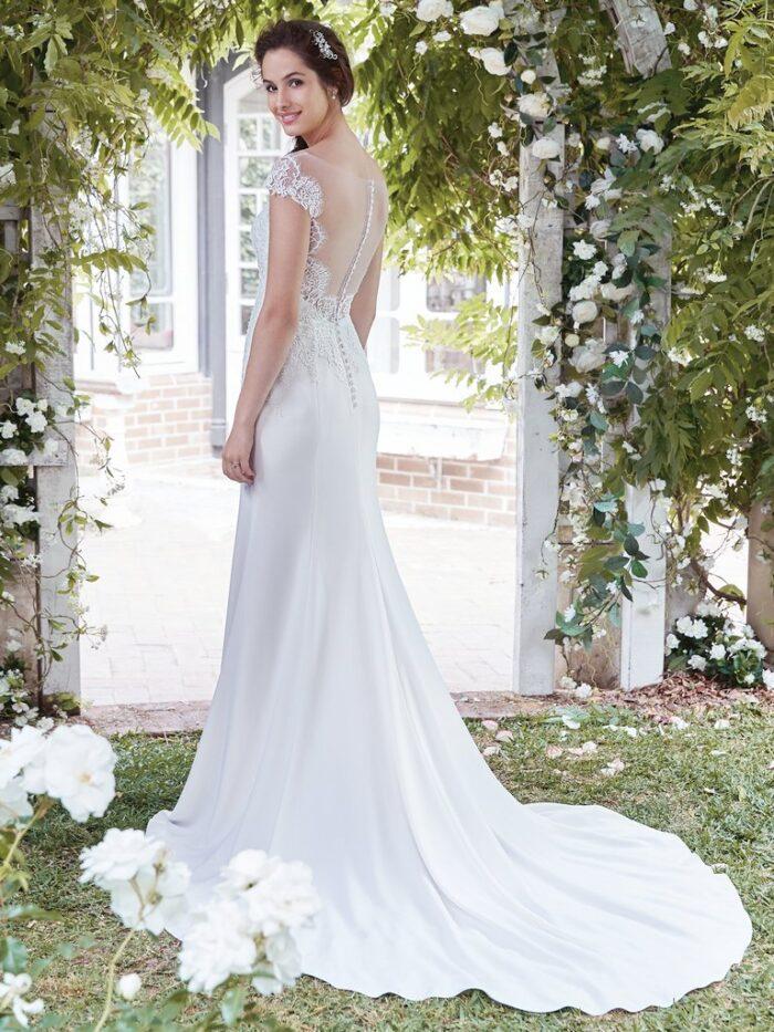 Rebecca Ingram Wedding Dress Naomi 7RW919 Back