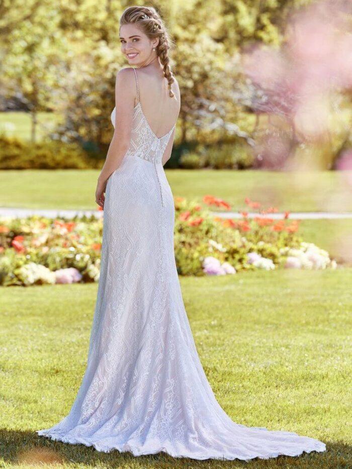 Rebecca Ingram Wedding Dress Polly 8RT440 Back2
