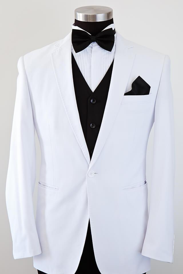 White Suit - Bridal & Tuxedo
