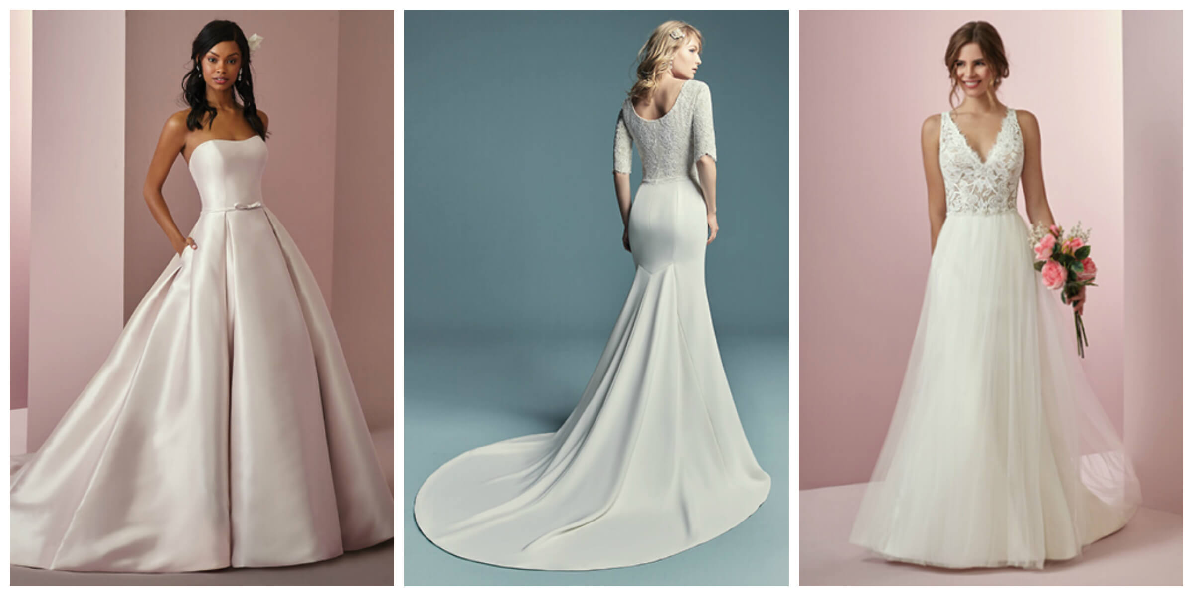 Choosing A Wedding Dress For Your Body Shape - Bridal & Tuxedo