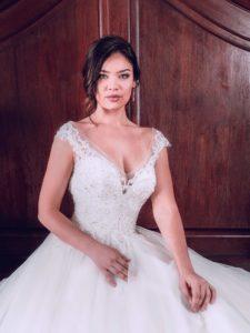 Royal wedding style wedding dress