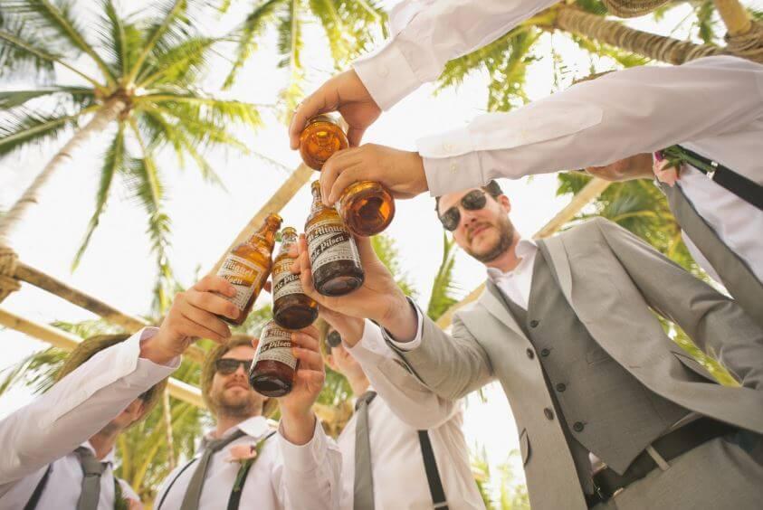 Sunglasses for groomsmen