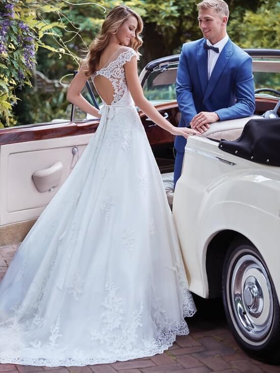 Rebecca Ingram Wedding Dress Kaitlyn 7RS982 Back